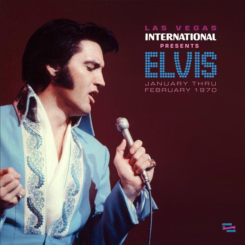MRS - Las Vegas International Presents Elvis January Thru February 1970 - 2 LP Clear Vinyl Gatefold Set