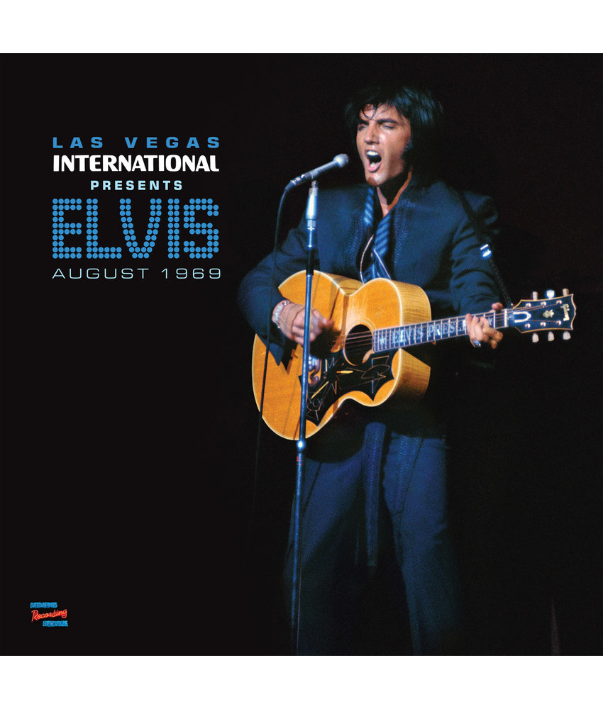 MRS - Las Vegas International Presents Elvis August 1969 - 1 LP Black Vinyl