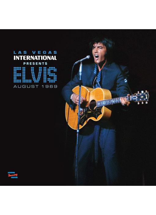 MRS - Las Vegas International Presents Elvis August 1969 - 1 LP Clear Vinyl