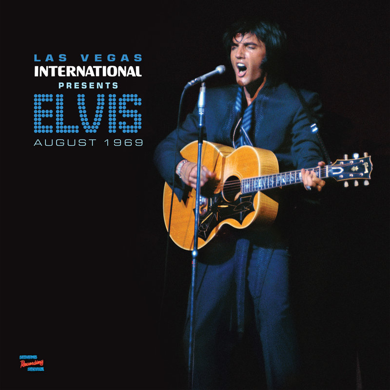 MRS - Las Vegas International Presents Elvis August 1969 - 1 LP Clear Vinyl