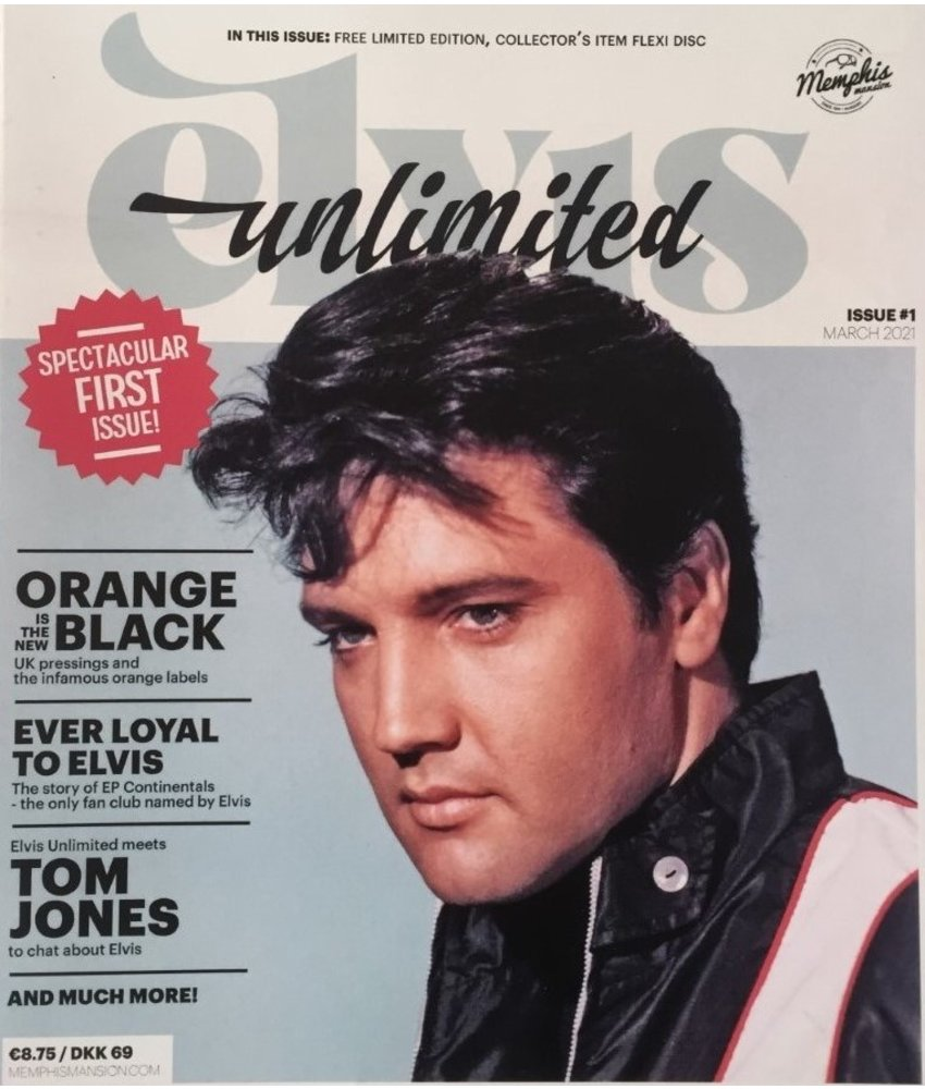 Elvis Unlimited Magazine - No. 1