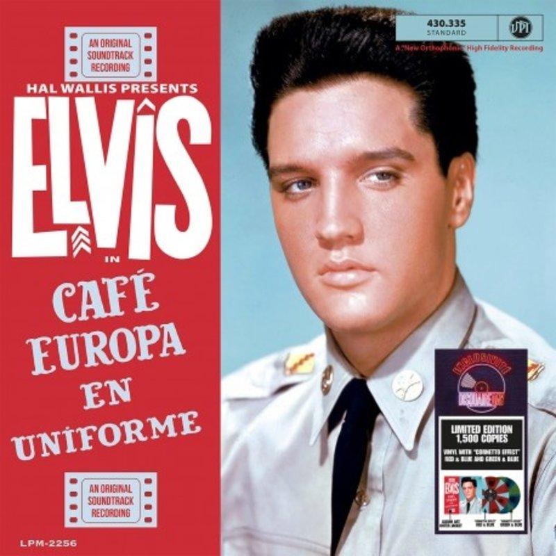 Elvis In Café Europe en Uniforme Colored Vinyl RSD 2021 VPI Label