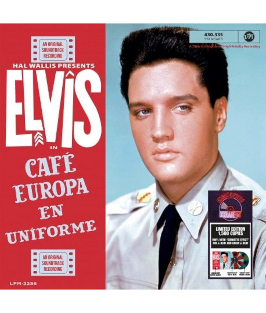 Elvis In Café Europe en Uniforme Colored Vinyl RSD 2021 VPI Label
