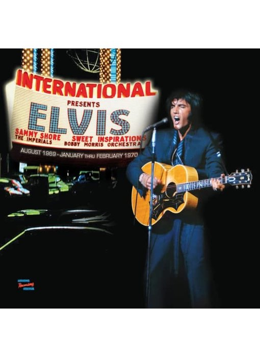 MRS - Las Vegas International Presents Elvis - The First Engagements 1969-1970  3 CD-Set