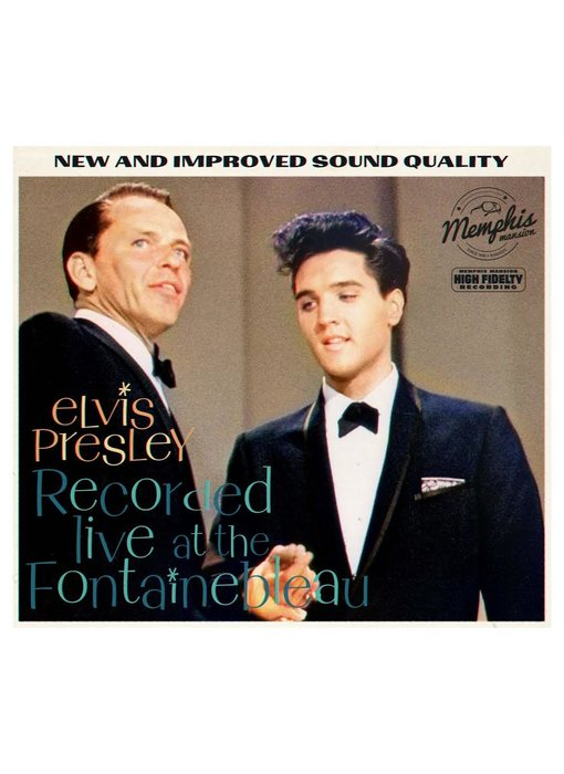 Elvis Presley Recorded Live At The Fontainebleau - Memphis Mansion Label CD