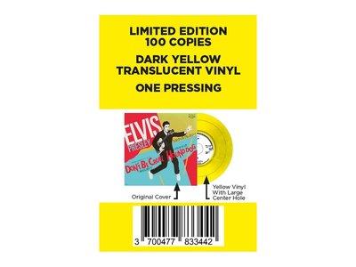 Elvis Presley Don't Be Cruel / Hound Dog Japan Edition Re-Issue Yellow Vinyl