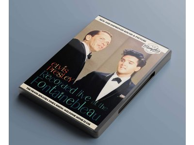 Elvis Presley Recorded Live At The Fontainebleau - Memphis Mansion Label DVD