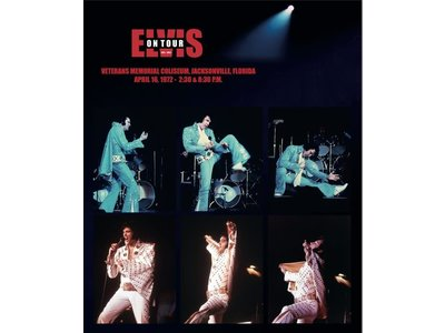 Elvis On Tour 1972 - 2022 The 50 Years Anniversary Book Trilogy