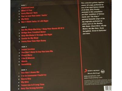 Elvis Sings 33 RPM Music On Vinyl RCA Label