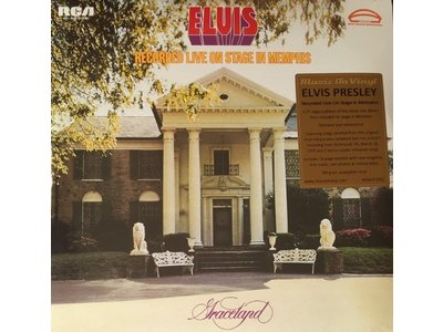 Elvis Recorded Live On Stage in Memphis 4 LP Set 33 RPM Music On Vinyl RCA Label
