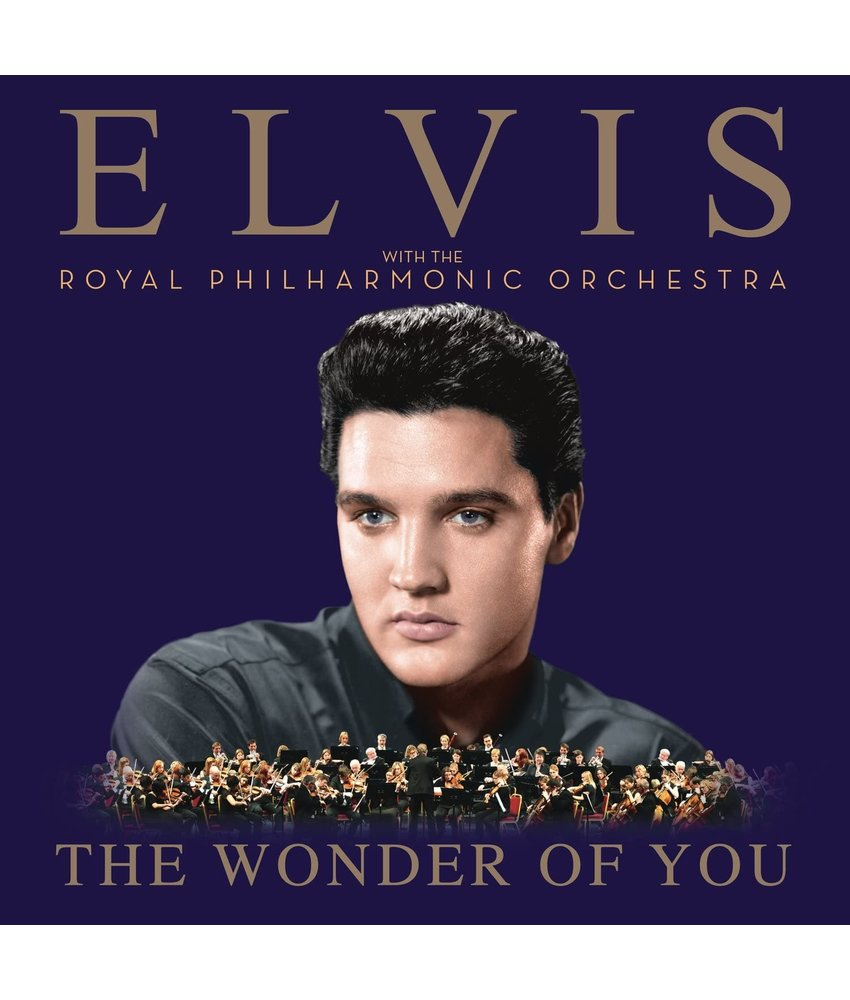 Elvis - The Wonder Of You (with The Royal Philharmonic Orchestra) Deluxe 1 CD With Duet