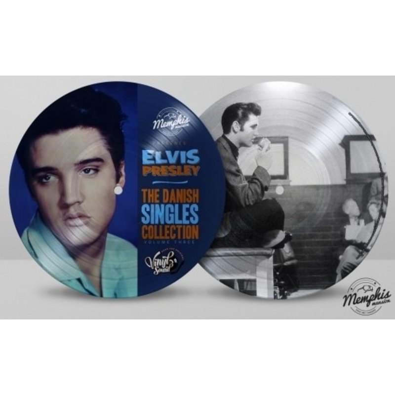 Elvis Presley - The Danish Singles Collection Volume Three - Picture Disc Vinyl Memphis Mansion Label