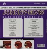 Johnny - Elvis Quano Johnny reprend Elvis Colored Violette Vinyl VPI Label