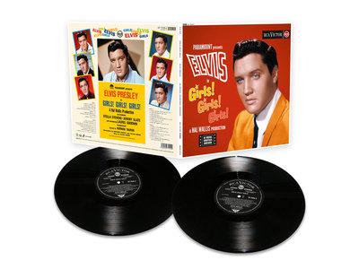 FTD Vinyl - Elvis in Girls! Girls! Girls!