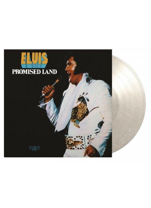 Elvis Presley Promised Land - Transparent White Marbleed Vinyl 33 RPM Music On Vinyl Label
