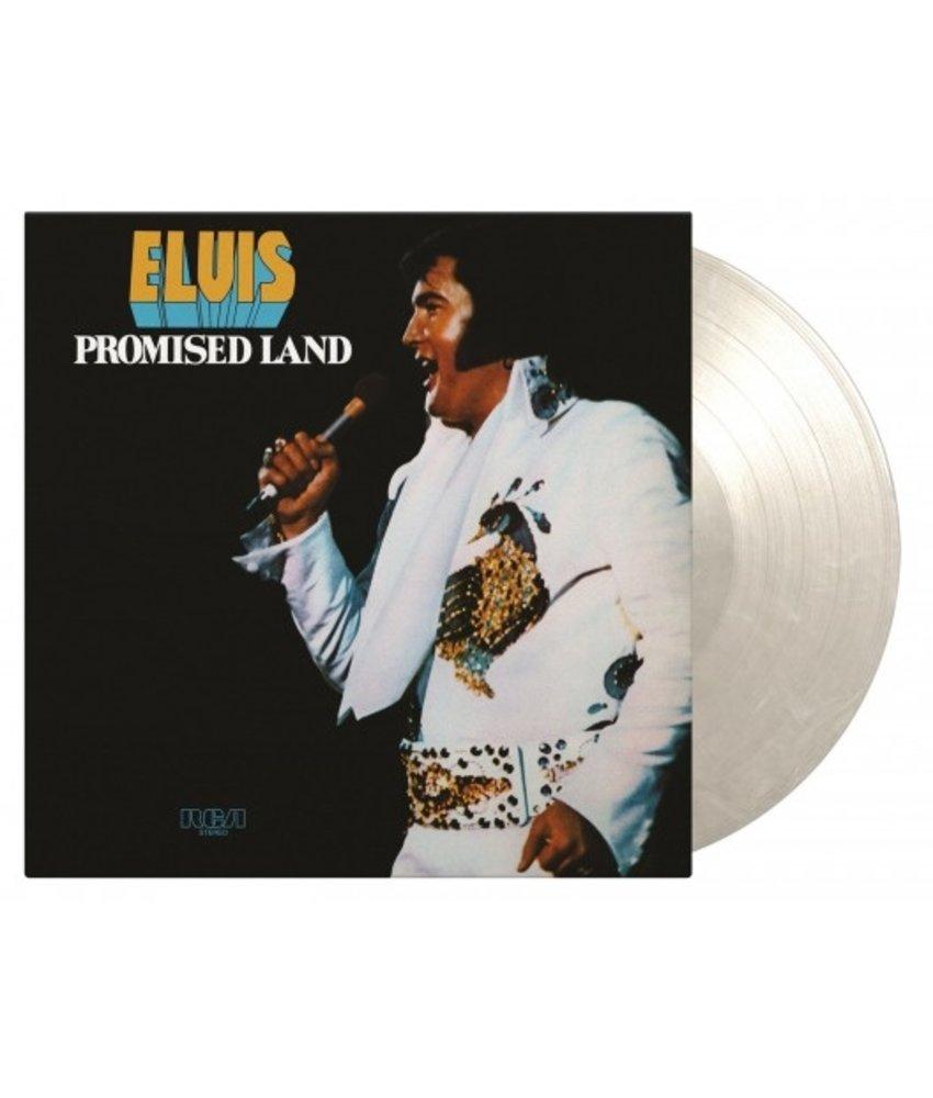 Elvis Presley Promised Land - Transparent White Marbeled Vinyl 33 RPM Music On Vinyl Label