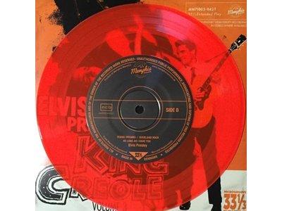 Elvis Presley King Creole Vol 3 - Red Vinyl EP Memphis Mansion Label