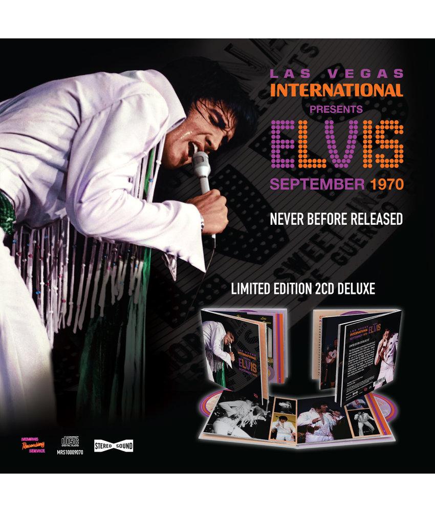 MRS - Las Vegas International Presents Elvis - September 1970  2 CD-Set Deluxe