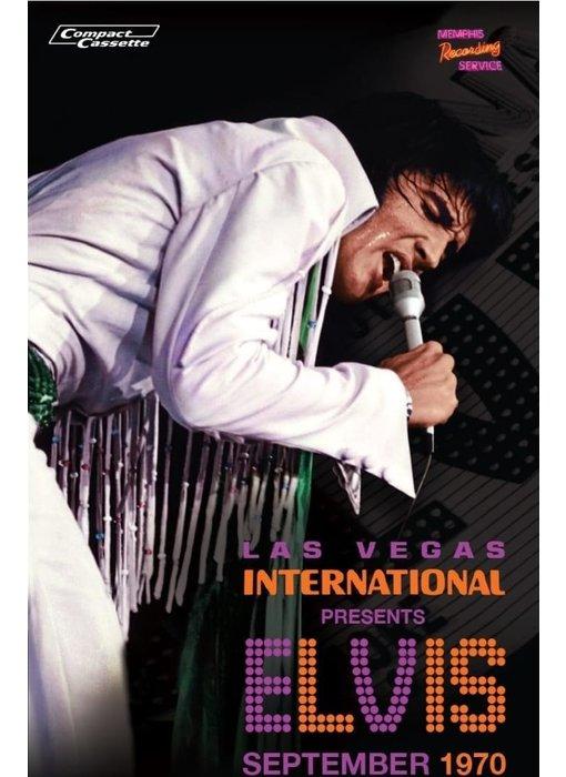 MRS - Las Vegas International Presents Elvis In Person September 1970 - 1 Cassette