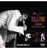 MRS - Las Vegas International Presents Elvis In Person September 1970 - 1 LP Clear Vinyl