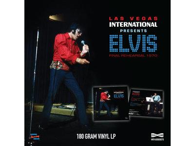 MRS - Las Vegas International Presents Elvis Final Rehearsel 1970 - 1 LP Clear Vinyl