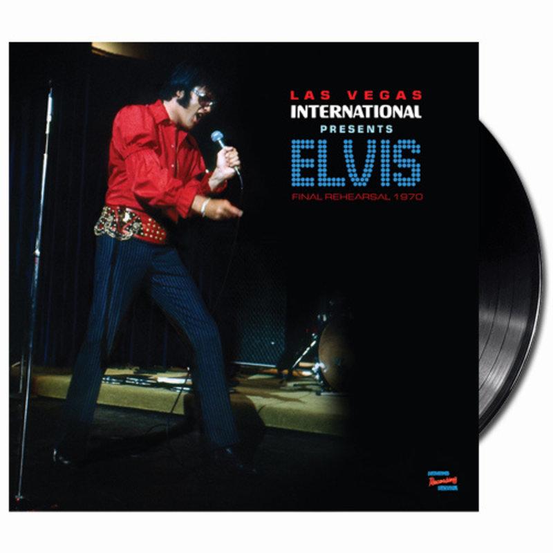 MRS - Las Vegas International Presents Elvis Final Rehearsel 1970 - 1 LP Black Vinyl