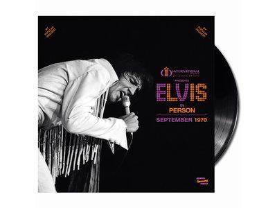 MRS - Las Vegas International Presents Elvis In Person September 1970 - 1 LP Black Vinyl