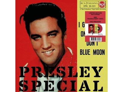 Elvis Presley I Got Stung / One Night Italian Edition Re-Issue Red Translucent Vinyl