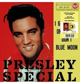 Elvis Presley I Got Stung / One Night  Italian Edition Re-Issue Yellow Opaque Vinyl