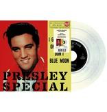 Elvis Presley I Got Stung / One Night  Italian Edition Re-Issue Clear Milky Vinyl
