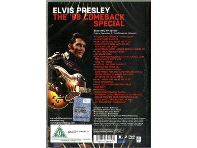 DVD - Elvis Presley The '68 Comeback Special - 1 DVD