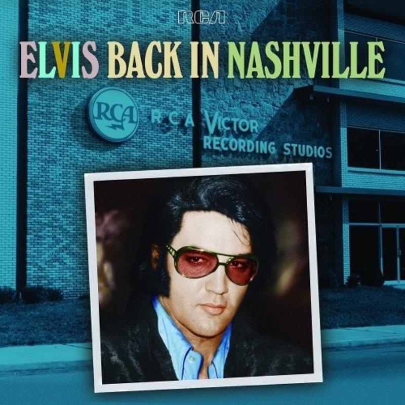 Elvis Back In Nashville - 4 CD Box-Set