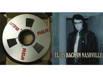 Elvis Back In Nashville - 4 CD Box Set