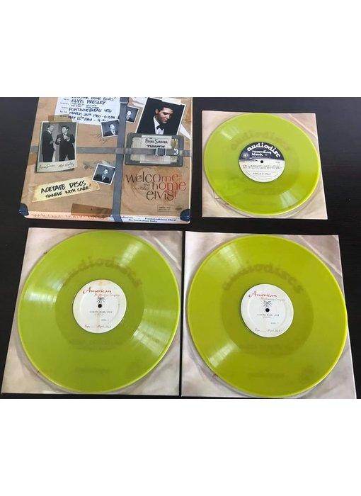 Welcome Home Elvis! Deluxe Box Set - Memphis Mansion Label Lime Vinyl
