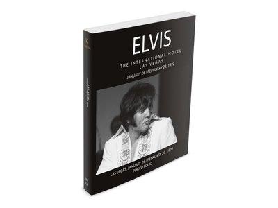 Elvis The International Hotel Januari 26-Februari 23 1970 Photo Folio Softcover Book