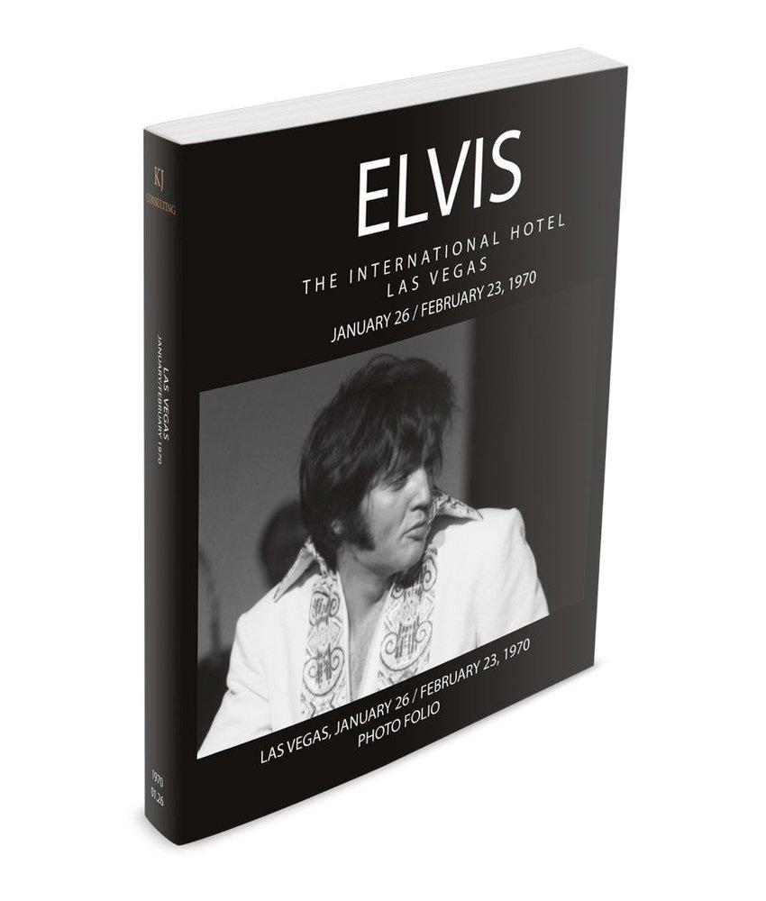 Elvis The International Hotel January 26-February 23 1970 Photo Folio Softcover Book