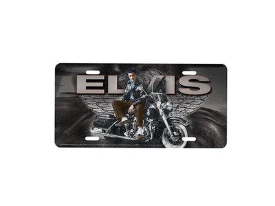 Kenteken - Elvis Motorcycle