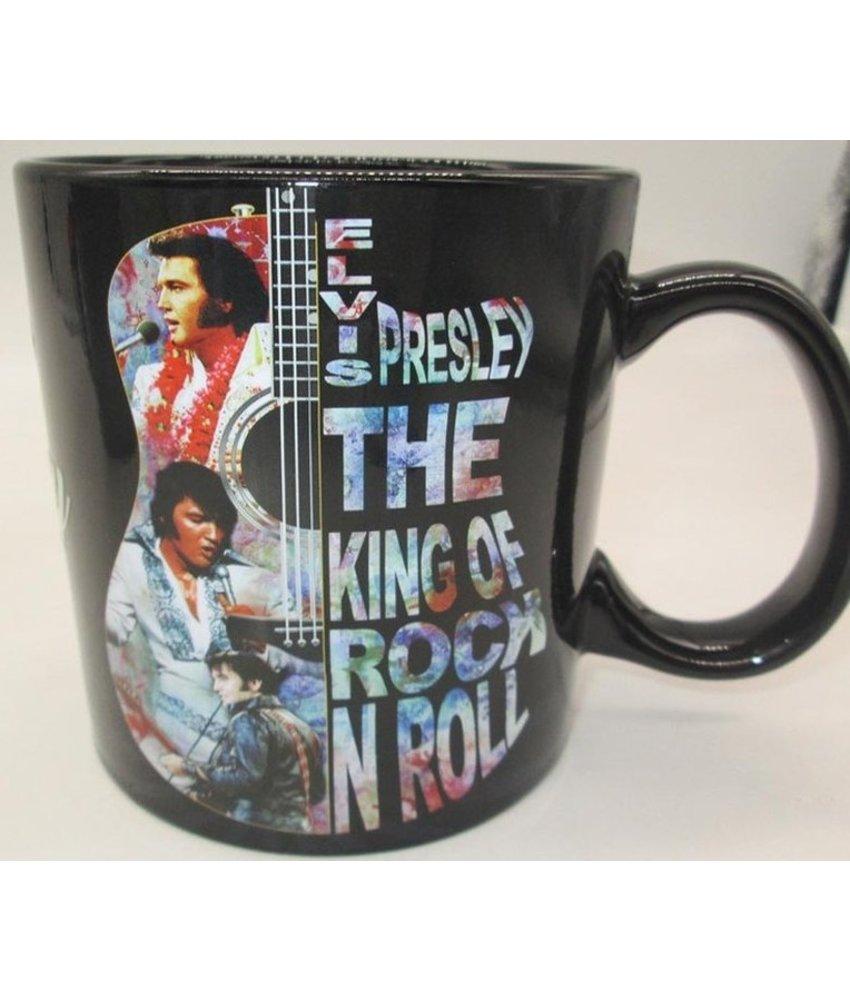 Mug Elvis Presley Guitar Colorful The King Of Rock 'N Roll