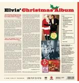 Elvis' Christmas Album - White Vinyl - 33 RPM Vinyl Wax Time Label