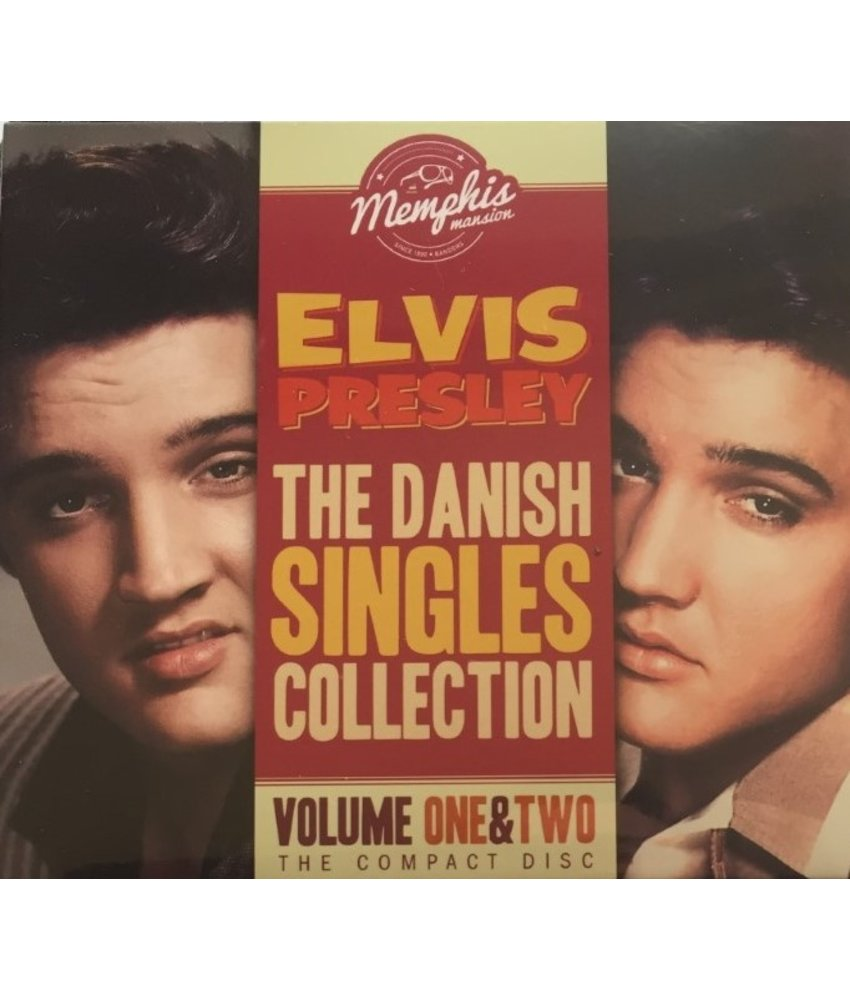 Elvis Presley The Danish Singles Collection Vol 1 & 2 The Compact Disc - Memphis Mansion Label
