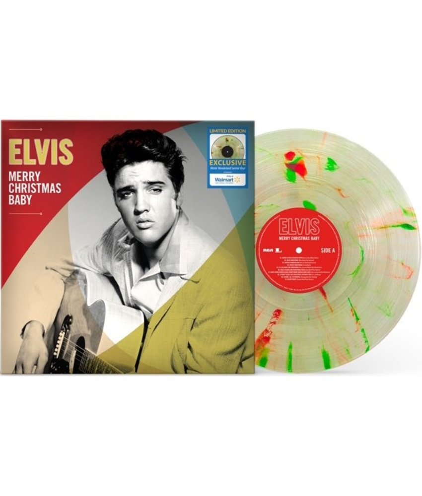 Elvis Merry Christmas Baby - Swirled Vinyl Walmart Exclusive