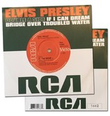 If I Can Dream/Bridge Over Troubled Water single - genummerde LIMITED EDITION
