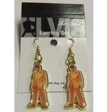 Earrings - Elvis Gold Suit
