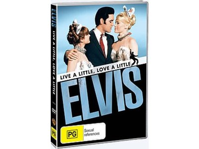 DVD - Live A Little, Love A Little