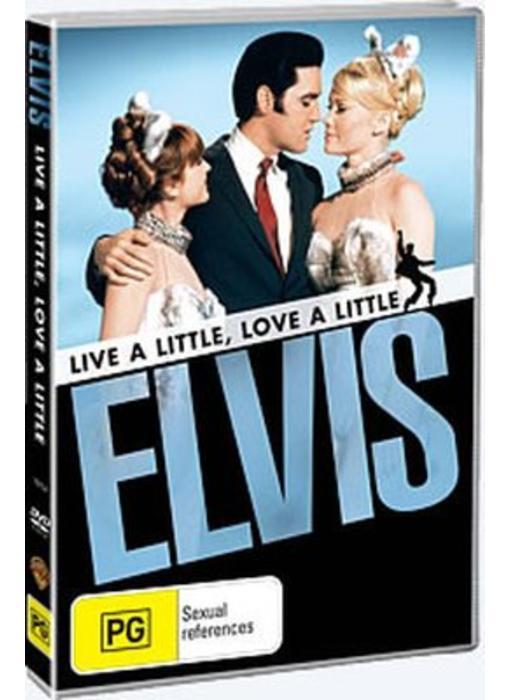 DVD - Live A Little, Love A Little