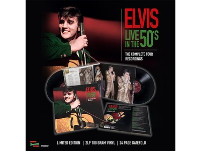 ELVIS LIVE IN THE 50's - 2LP (Limited Edition)