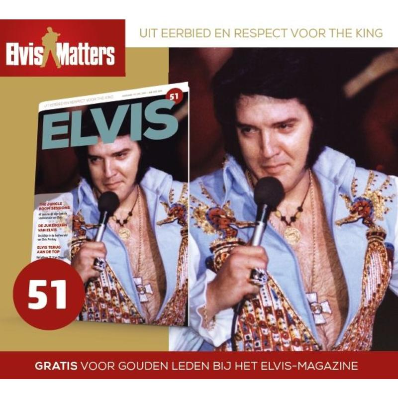 Magazine and CD - ELVIS 51