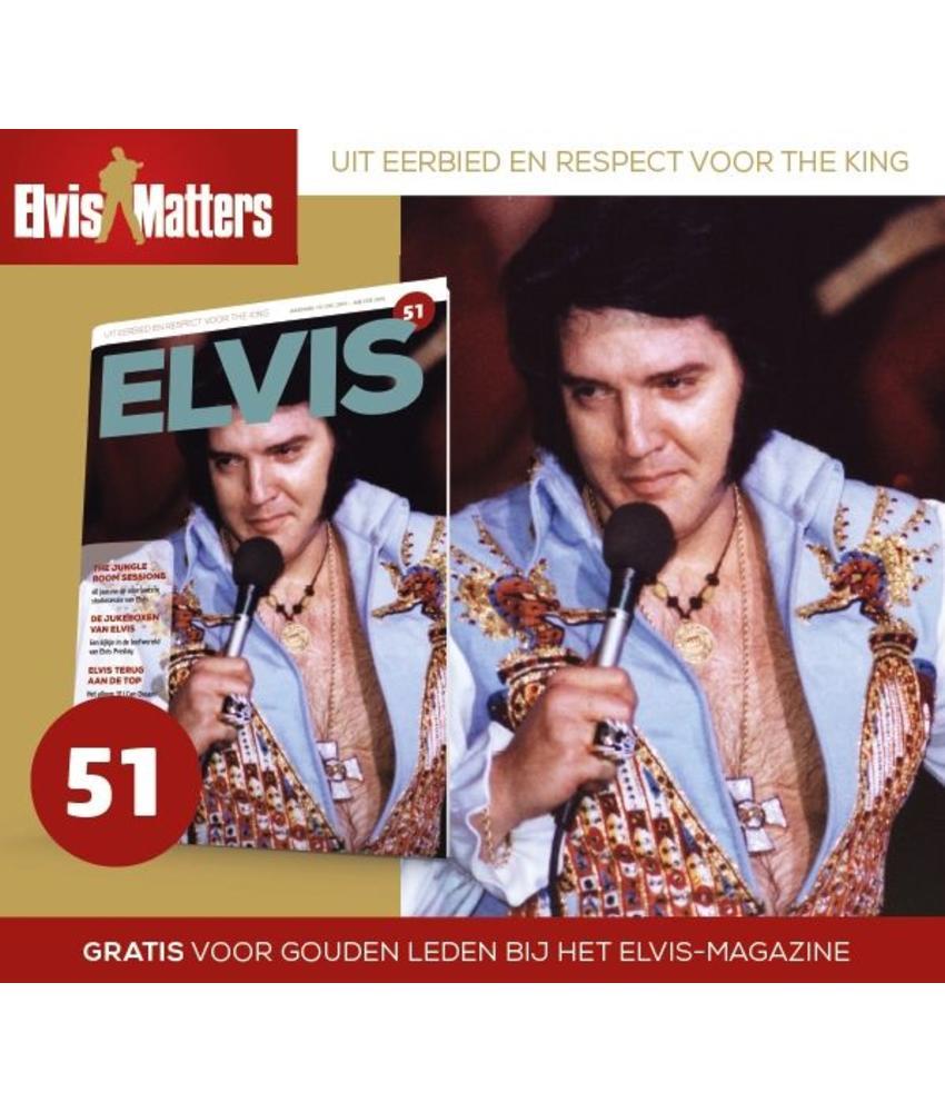 Magazine and CD - ELVIS 51