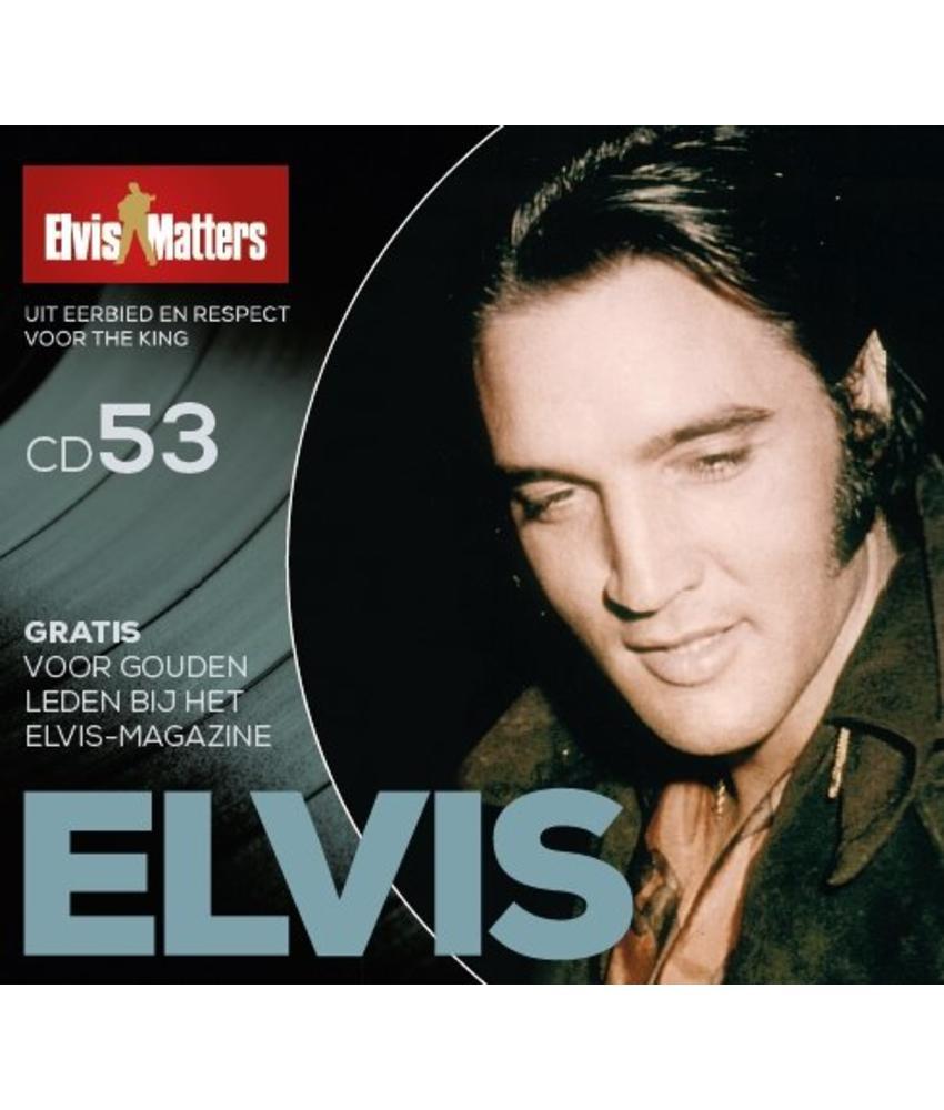 Magazine CD - ELVIS 53