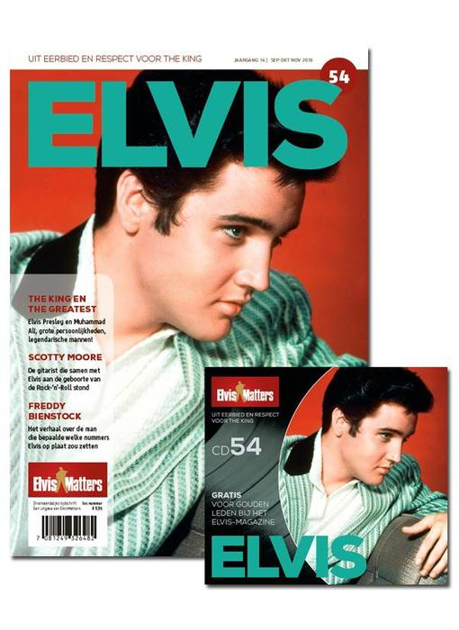 Magazine met CD - ELVIS 54